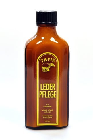 Tapir Leather Care