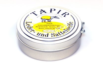 Tapir Leather and Saddle Soap
