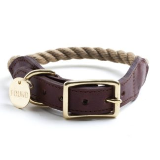 Found Rope Collar Natural