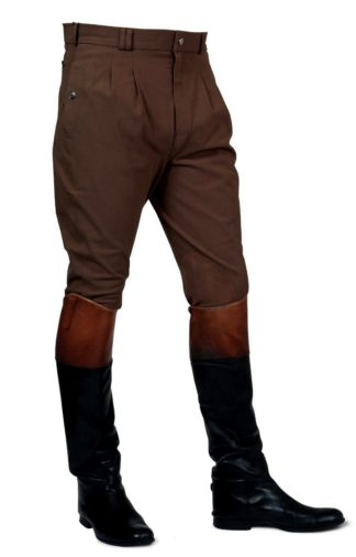 Mark Todd Herren-Reithose Auckland Breeches, Coffee