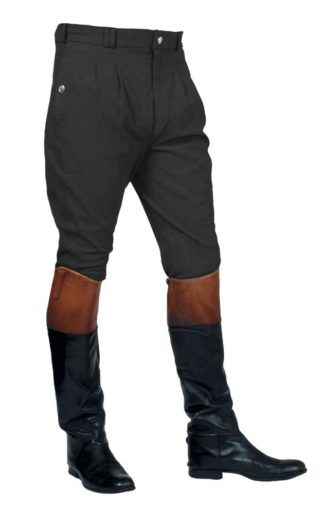 Mark Todd Herren-Reithose Auckland Breeches, Charcoal