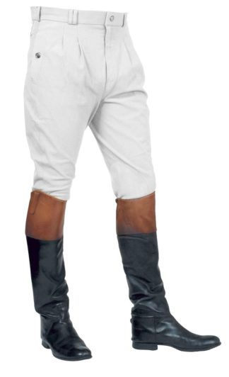 Mark Todd Herren-Reithose Auckland Breeches, White