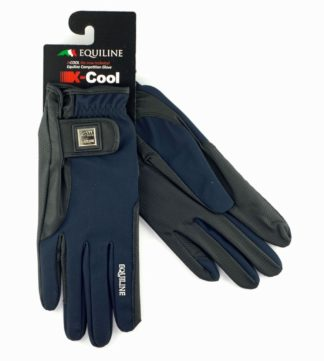Equiline X-Cool Reithandschuhe, navy