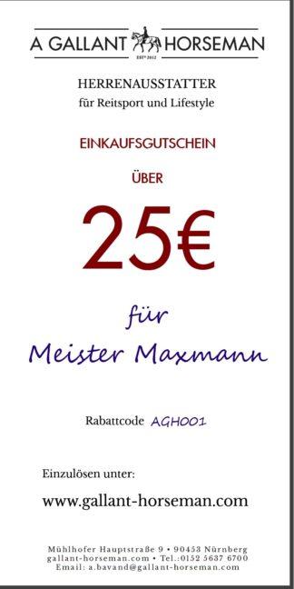 AGH Gutschein 25