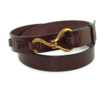 Faizey Hoof Pick Belt, kastanienbraun