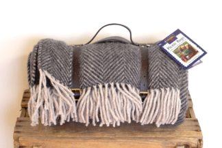 Tweedmill Picknick-Decke Polo, herringbone
