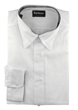 Barbour Fedderdale Hemd, weiß