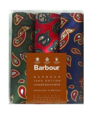 Barbour Cotton Handkerchiefs Paisley