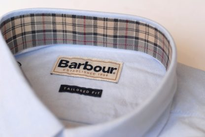 Barbour Oxford Shirt detail
