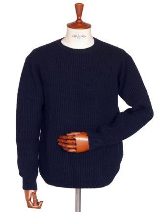 Barbour Riverton Pullover, dunkelblau