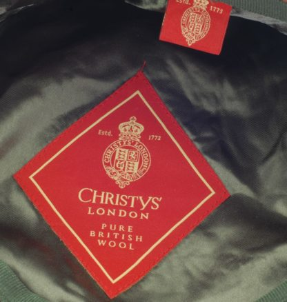 Christys Balmoral Tweed purple overcheck