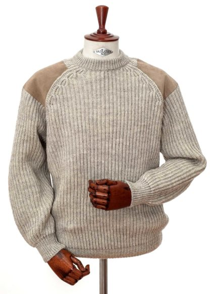 Niffi Classic Outdoor Pullover, hellbraun
