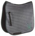 EQuest Schabracke AGH Cotton Quattro, grau-dunkelgrün