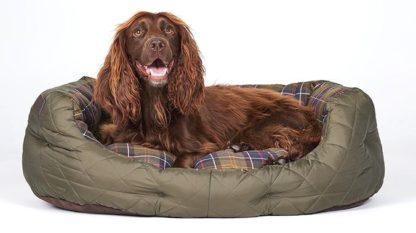 Barbour Hundebett Quilted Dog Bed M