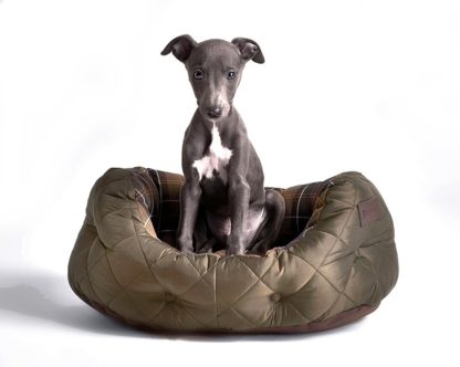 Barbour Hundebett Quilted Dog Bed S