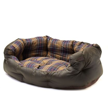 Barbour Hundebett Wax Cotton Dog Bed XL