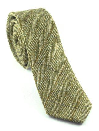 Tweedmill Tweed Krawatte oliv