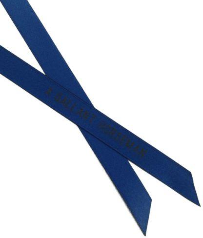 Warn- und Signalschleife, blau
