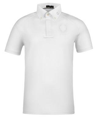 Cavallo Turniershirt Grec weiß