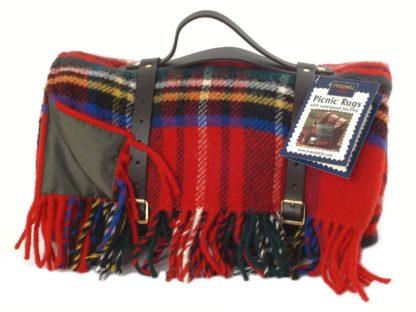 Tweedmill Picknick-Decke Polo, Royal Stewart Tartan
