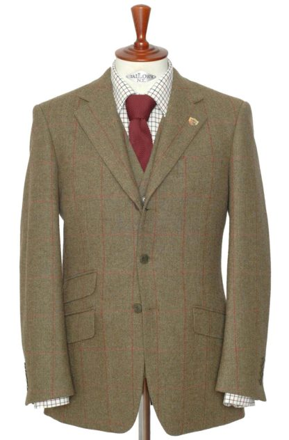 Alan Paine Tweed Blazer, sage