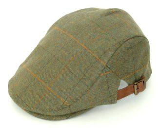 Alan Paine Compton verstellbare Tweed Kappe