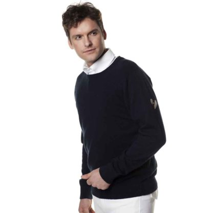 Kingsland Classic Sweater Sommer-Strickpullover, navy