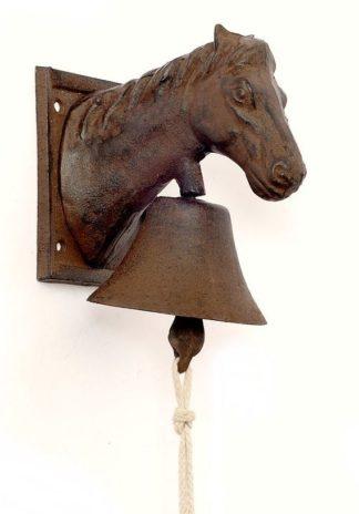 Hof- und Türglocke Pferd