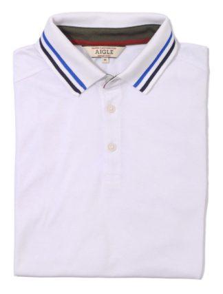 Aigle Polo-Shirt Sparksun, weiß