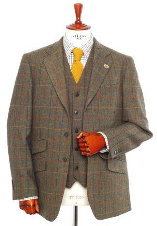 Alan Paine Tweed Blazer, peat