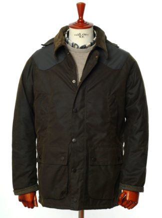 Barbour for LAND ROVER Wachsjacke Hales