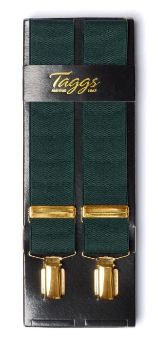 Hosenträger breit, dunkelgrün