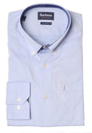 Barbour Critchton Shirt, hellblau