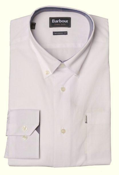 Barbour Crichton Shirt, weiß-4376