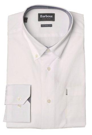 Barbour Crichton Shirt weiß