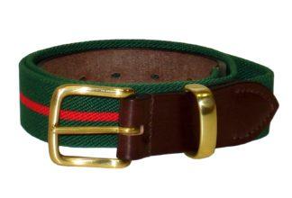 Hardy & Parsons Stretchgürtel Bredon Belt, grün rot
