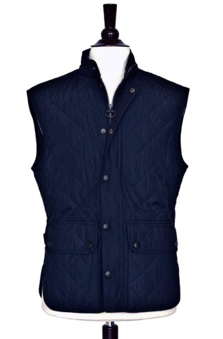 Barbour Lowerdale Steppweste, navy