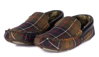 Barbour Monty Slipper Classic Tartan