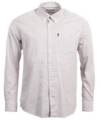 Barbour Tattersall Hemd, rot-blau
