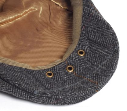 Barbour Crieff Cap, charcoal Country Check