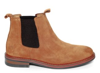 Alan Paine Suede Chelsea Boot