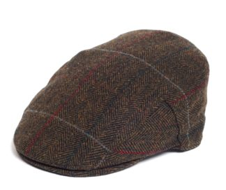 Barbour Crieff Cap, olive Country Tweed