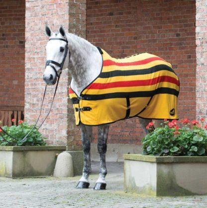 Masta Fleece Abschwitzdecke NM Stripes