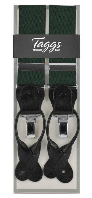 Taggs Hosenträger 2in1, dunkelgrün