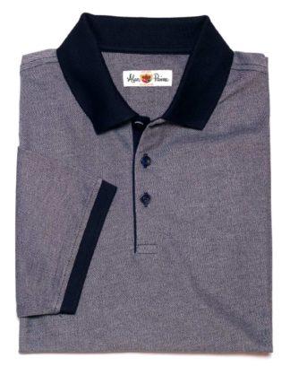 Alan Paine Poloshirt Kirdford Oxford Pique