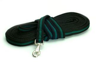 Comfort Longierleine, schwarz-grün