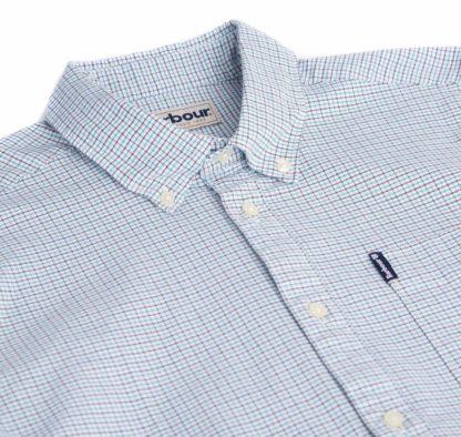 Barbour Tattersall Hemd, teal