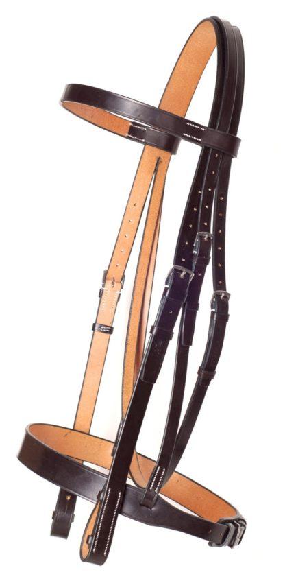 Jeffires Traditional Hunter Trense, dunkelbraun