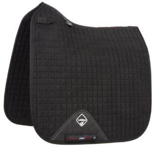 LeMieux Schabracke ProSport Dressage Suede, schwarz