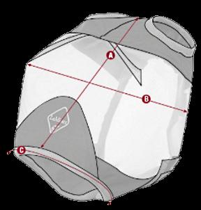 LeMieux Armour Shield Fliegenmaske Size Guide